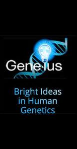 GLP Gene-ius Logo Tagline Design