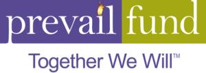Our logo & tagline design for Prevail Fund.