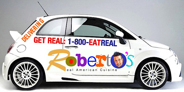 Roberto's Real American Tavern Delivery Concept