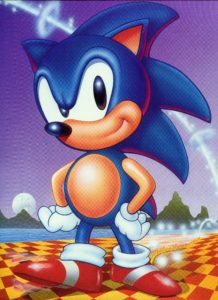Sonic The Hedgehog Design Illustration