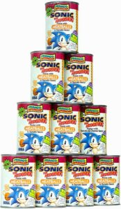 Sonic The Hedgehog Packaging Design Campbell Soup
