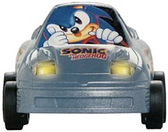 Sonic The Hedgehog RC Car Graphics