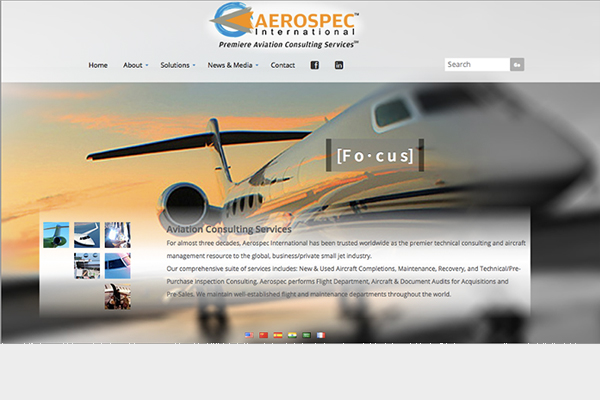 Aerospec International Copywriting