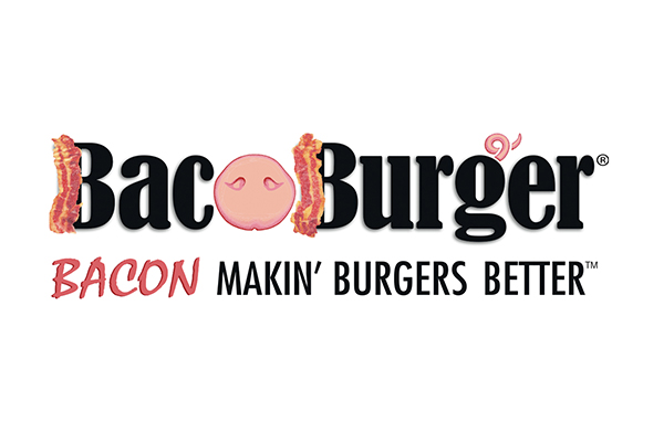 BacoBurger Logo Tagline Design G