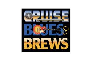 Cruise, Blues & Brews Logo Design