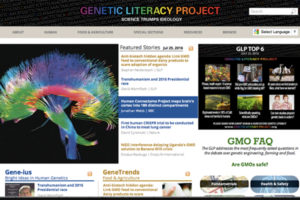 Genetic Literacy Project Website Design