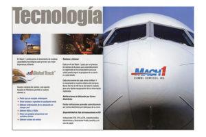Mach 1 Global brochure design