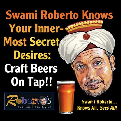 Roberto's Real American Tavern Facebook Post 2