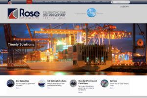 Rose Containerline Web Design Copywriting